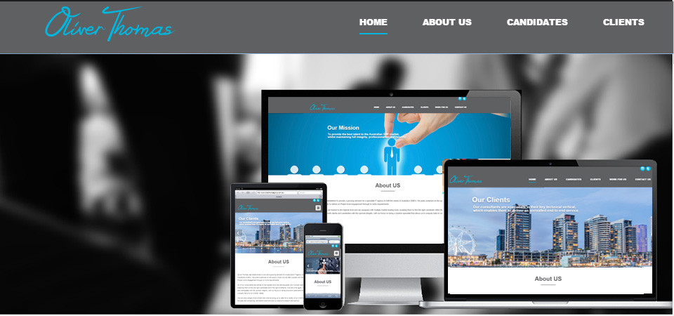 Professional website designer in Thomastown