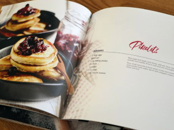 Cook Book Design Services